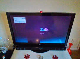 LG black 42 tv hd