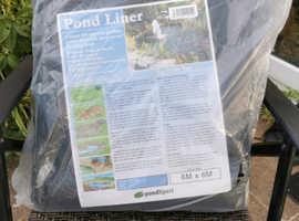 Pond liner 6mx6m new unopened