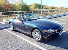 BMW Z4 SE, 2005 (55) Blue Convertible, Manual Petrol, 33,400 miles