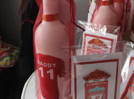 Liverpool Premier league Champions 2019/20 Personalised Bottles