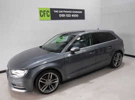 Audi A3, 2015 (65) Grey Hatchback, Manual Diesel, 77,000 miles