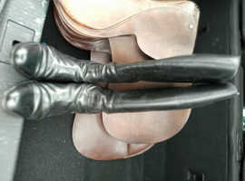 Pair of long Leather Riding Boots