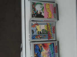 Atari 7800 with 5 games