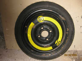 SPACESAVER WHEEL AND TYRE FOR VW - UNUSED