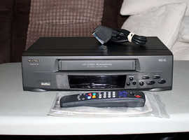 Matsui VHS VCR Video Player Recorder
