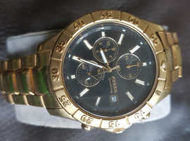 Fossil Water Resistant Gold Watch