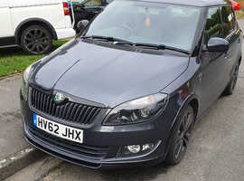 Skoda Fabia, 2012 (62) Grey Hatchback, Manual Diesel, 7,200 miles