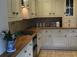 Kitchen units  and appliances donation to Phyllis Tuckwell