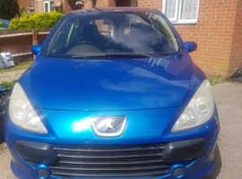 Peugeot 307, 2005 (55) Blue Hatchback, Manual Petrol, 181,000 miles