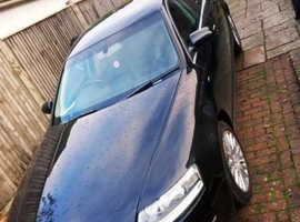 Audi A6, 2007 (57) Black Saloon, Cvt Diesel, 190,000 miles