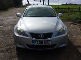 Lexus Is, 2008 (08) Silver Saloon, Manual Diesel, 123,000 miles