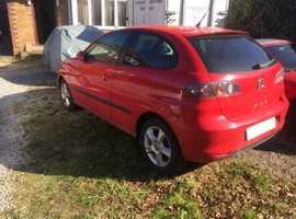 Seat Ibiza, 2008 (08), Manual Petrol, 89,000 miles