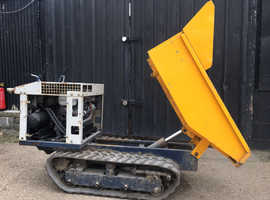 Yanmar Tracked Mini Micro Dumper Tipper Track Machine Plant tractor digger landscaping groundwork