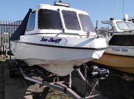 Seaswift 500 /suzuki 50horse 4 stroke