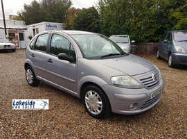 Citroen C3 SX 1.4 Litre 5 Door Hatch, Only 62,000 Miles, New MOT, Full Service History.