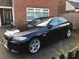 BMW 5 Series, 2012 (12) Black Saloon, Automatic Diesel, 75,000 miles