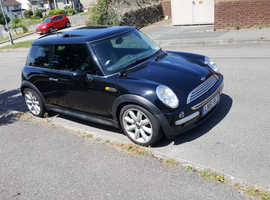 Mini MINI, 2001 (51) Black Hatchback, Cvt Petrol, 180.000 miles