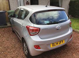 Hyundai i10, 2014 (14) Silver Hatchback, Manual Petrol, 50,233 miles
