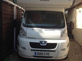 Elddis Autoquest 180 2010 / 6 Berth / Manual / 6 belted seats / End Bedroom / 20,200 miles