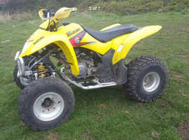Suzuki ltz250 quad Bike and trailer