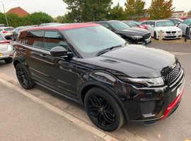 Land Rover Range Rover Evoque, 2017 (17) Black Hatchback, Automatic Diesel, 32,987 miles