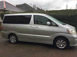 Toyota Alphard People Carrier