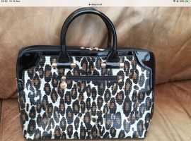 Ladies Animal print handbag NEW