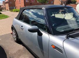 Mini MINI, 2006 (06) Silver Convertible, Manual Petrol, 125,533 miles
