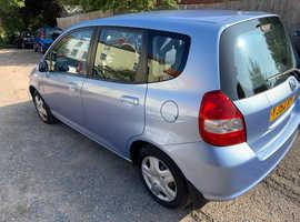 Honda Jazz, 2002 (52) Blue Hatchback, Manual Petrol, 69,402 miles