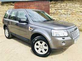 Land Rover FREELANDER GS, 2008 (08) Grey Estate, Manual Diesel, 67,400 miles