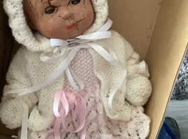 Home wanted for very old doll