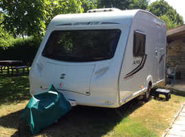 Sprite Alpine 2 berth year of manufacture 2011 with motor mover