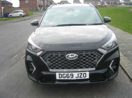 Hyundai Tucson, 2019 (69) Black Estate, nline Manual Petrol, 0nly 3478 miles