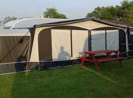 swift firebrand 2006 6 berth tourer with full awning and annexes,accessories