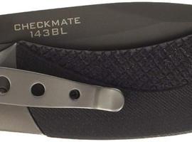 BROWNING BLACK LABEL CHECKMATE FOLDING POCKET KNIFE WITH TITANIUM COATED BLADE & GLASS BREAKER
