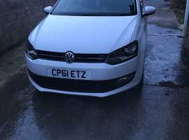 Volkswagen Polo, 2011 (61) White Hatchback, Manual Diesel, 91,500 miles