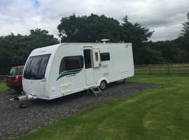 Luxury caravan perfect for 2 and comfortable for 4.