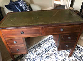 Free leather top desk