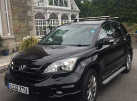 Honda CR-V, 2012 (12) Black Estate, Auto Diesel, 67,000 miles