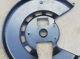 Front brake discs protection shields for Lamborghini Urraco