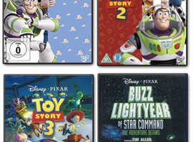Toy Story 1, 2 & 3 + Buzz Lightyear of Star Command