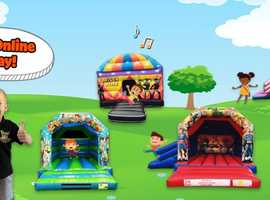 bouncy castle hire, birthday party  ideas