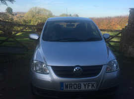 Volkswagen Fox, 2008 (08) Silver Hatchback, Manual Petrol, 3,600 miles