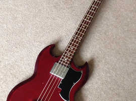 `70s electric SG short scale bass guitar MADE IN JAPAN for T.R.A.D.E.
