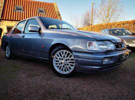 Ford Sierra, 1998 (R) Blue Saloon, Manual Petrol, 74,000 miles