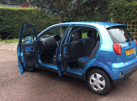 Chevrolet Matiz, 2009 (09) Blue Hatchback, Manual Petrol, 71,480 miles