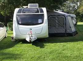 PRICE REDUCED !!! Brilliant family 6 berth Swift caravan and air awning outfit for sale . Excellent condition.