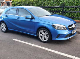 Mercedes A-CLASS, 2016 (16) Blue Hatchback, Manual Diesel, 62,800 miles £11,500 ONO