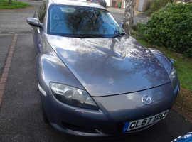 Mazda RX-8, 2008 (57) Grey Coupe, Manual Petrol, 60,312 miles