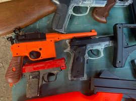 Bb guns and airsoft guns various joblot